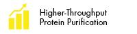 Higher-Throughput Protein Purification